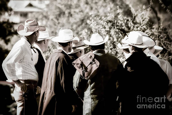 Photograph - Cowboy Bunch by Trish Mistric