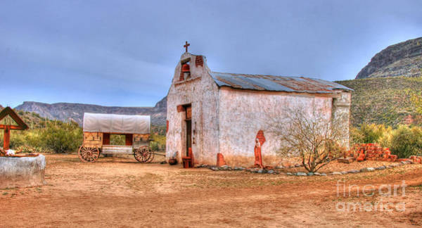 Photograph - Cowboy Church by Tap On Photo