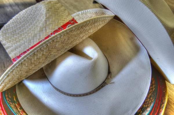 Photograph - Cowboy Hats by Bill Hamilton