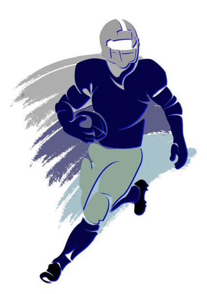 Dallas Cowboys Photograph - Cowboys Shadow Player2 by Joe Hamilton