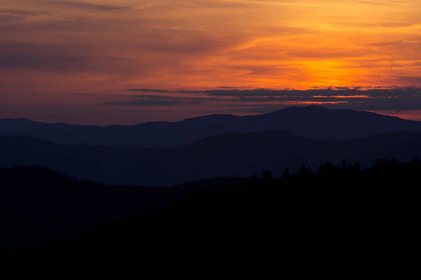 Photograph - Cowee Mountain Overlook #2 by Ben Shields