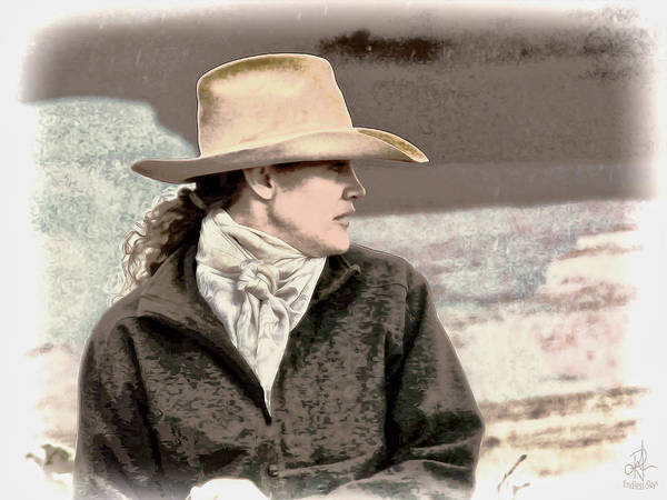 Photograph - Cowgirl by Pennie McCracken