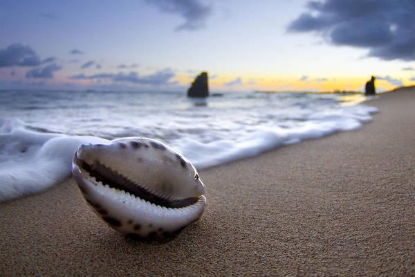 Sea Photograph - Cowrie Sunrise by Sean Davey