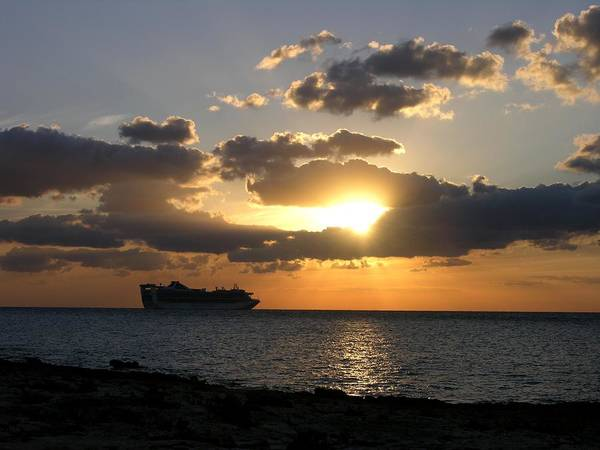 Photograph - Cozumel Sunset by Keith Stokes