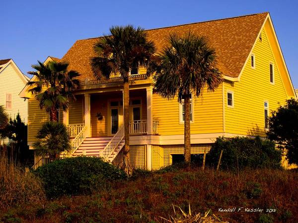 Photograph - Cozy At Isle Of Palms by Kendall Kessler