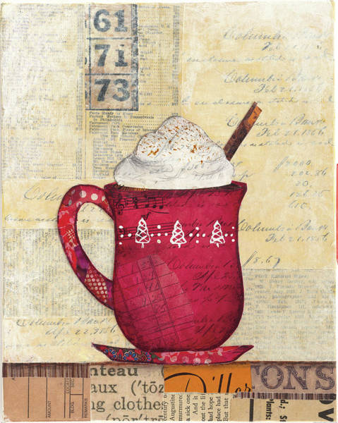 Whipped Cream Painting - Cozy Cups IIi by Courtney Prahl