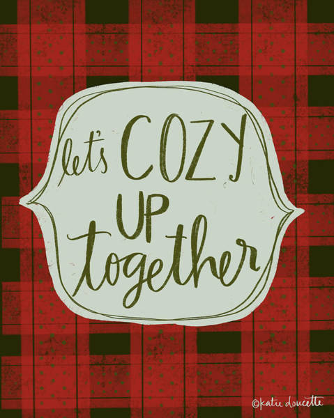 Wall Art - Painting - Cozy Together by Katie Doucette