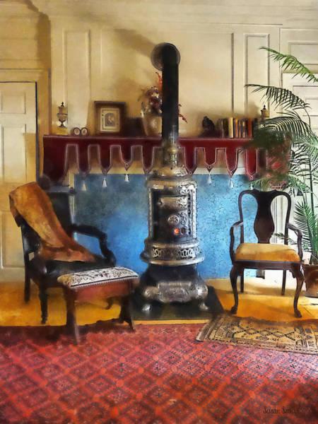 Photograph - Cozy Victorian Parlor by Susan Savad