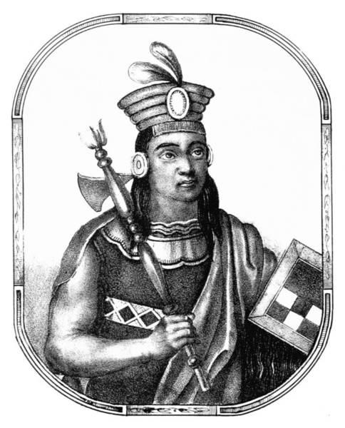 Wall Art - Photograph - C�pac Yupanqui, Sapa Inca, Kingdom by British Library