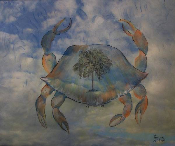 Painting - Crab by Virginia Bond