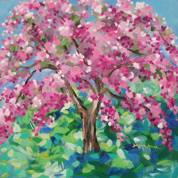 Painting - Crabapple Tree by Linda Rauch