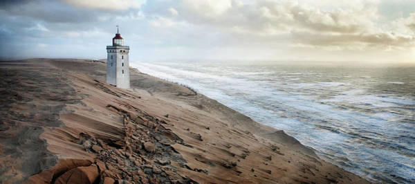 Lighthouse Photograph - Crack In Time II by J?rg Hubrich