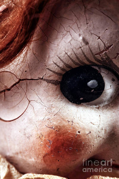 Photograph - Cracked Eye by John Rizzuto