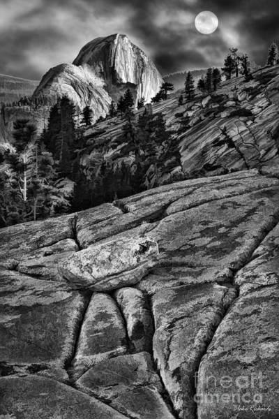 Photograph - Cracks To Yosemite's Hafe Dome by Blake Richards