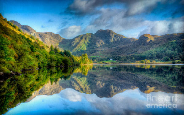 Coed Photograph - Craf Nant Lake by Adrian Evans