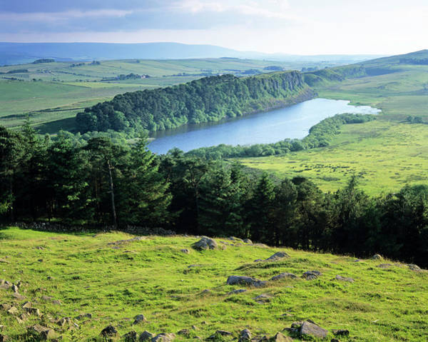 Sill Wall Art - Photograph - Crag Lough by Simon Fraser/science Photo Library