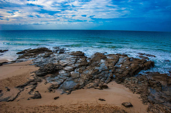 Photograph - Craggy Beach Lorne by Harry Spitz