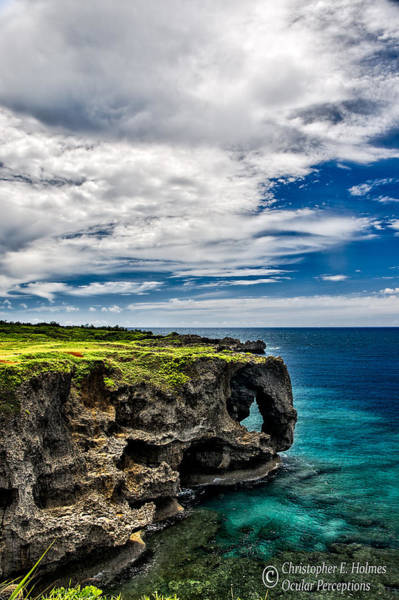 Photograph - Craggy Cliffs by Christopher Holmes