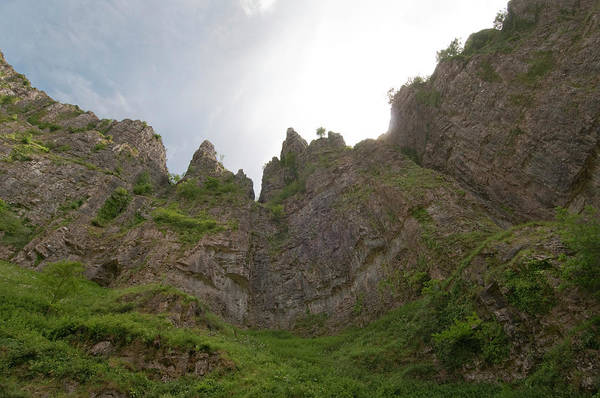 Toughness Photograph - Craggy Limestone Cliffs Of Cheddar Gorge by Patrick Horton