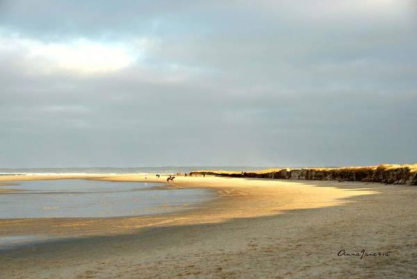 Art Print featuring the photograph Crane Beach by AnnaJanessa PhotoArt