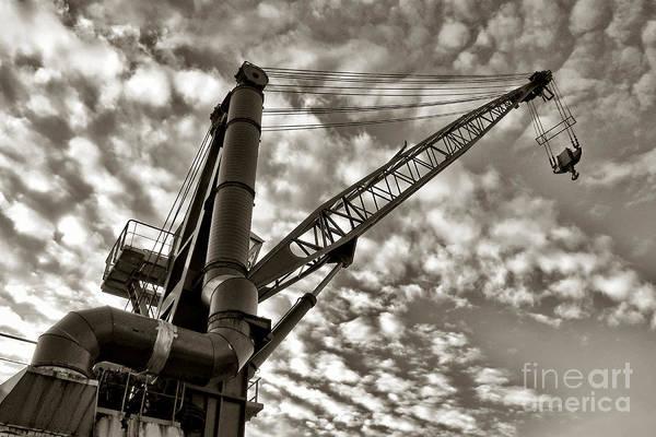 Lift Photograph - Crane by Olivier Le Queinec