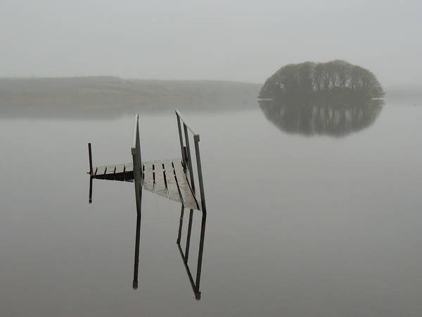 Photograph - Crannog At Lake Knockalough by James Truett