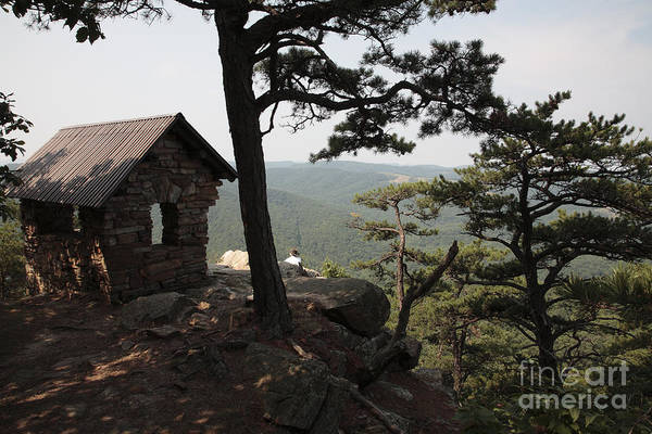 Lost River State Park Wall Art - Photograph - Cranny Crow Overlook At Lost River State Park by William Kuta