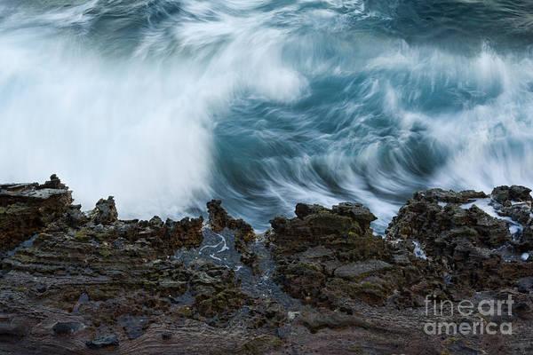 Photograph - Crashing Ocean Wave by Charmian Vistaunet