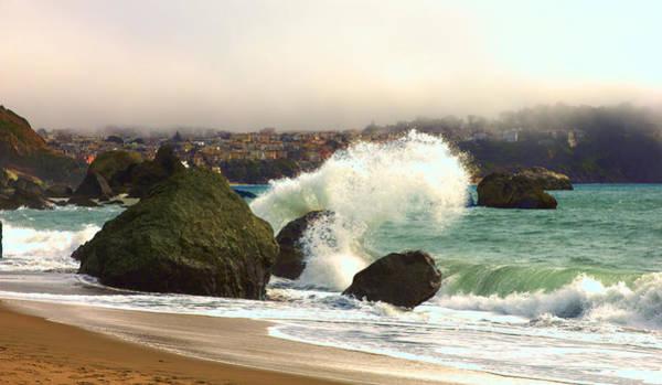 Photograph - Crashing Waves by Bryant Coffey
