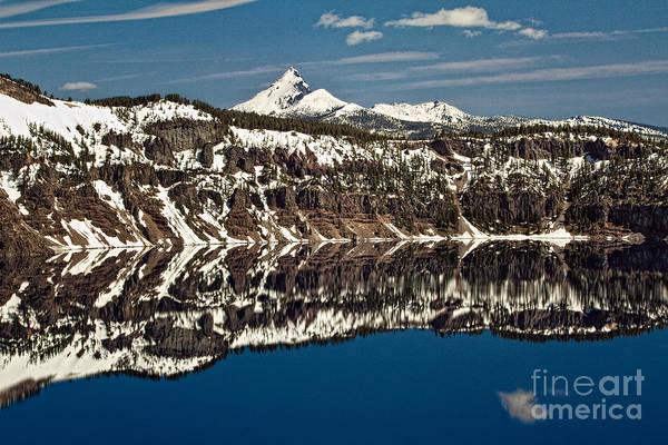 Photograph - Crater Lake And Mt. Thielsen by Stuart Gordon