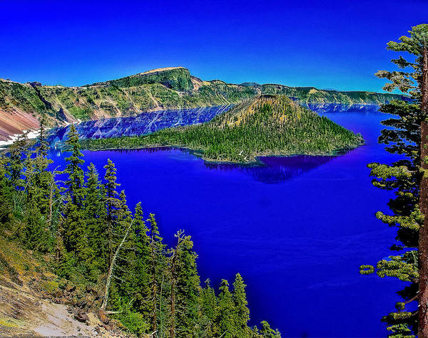 Photograph - Crater Lake National Park by Bob and Nadine Johnston