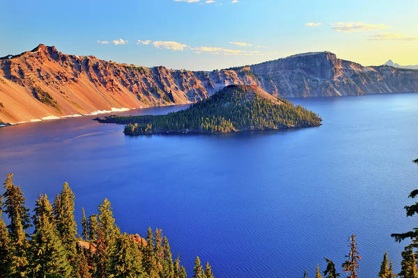 Volcanic Craters Photograph - Crater Lake National Park by William Perry