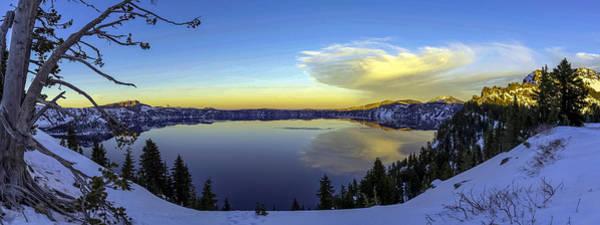 Crater Lake Panorama Art Print