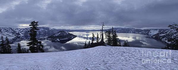Photograph - Crater Lake Panorama by Stuart Gordon