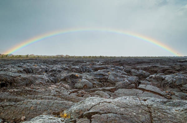 Photograph - Craters And Rainbows by Michael Chatt