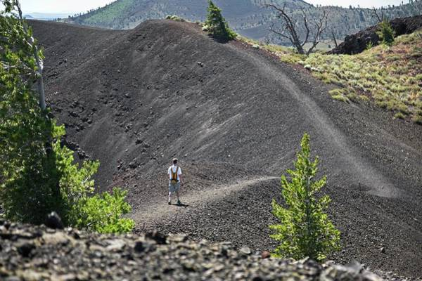 Basalt Photograph - Craters Of The Moon Hiking Trail by Jim West