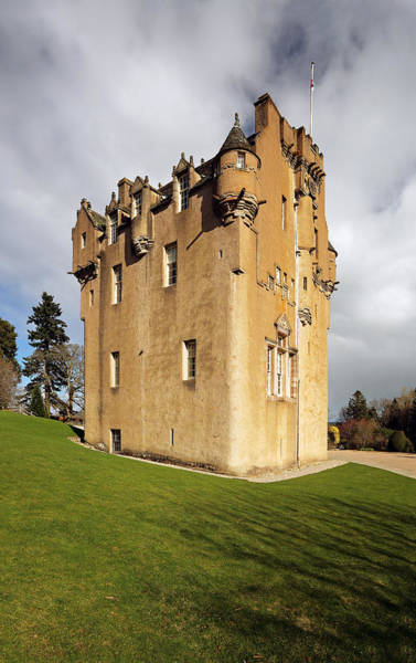 Photograph - Crathes Castle by Grant Glendinning