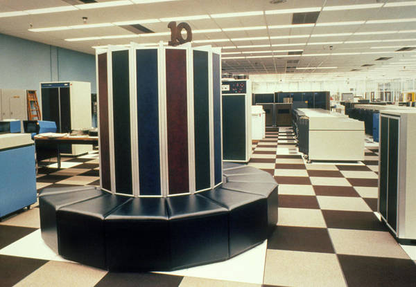 Livermore Wall Art - Photograph - Cray 1 Supercomputer by U.s. Dept. Of Energy/science Photo Library
