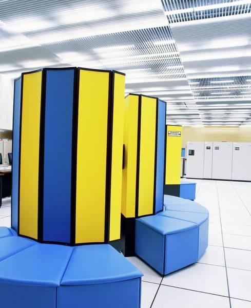 48 Wall Art - Photograph - Cray Supercomputer by David Parker/science Photo Library