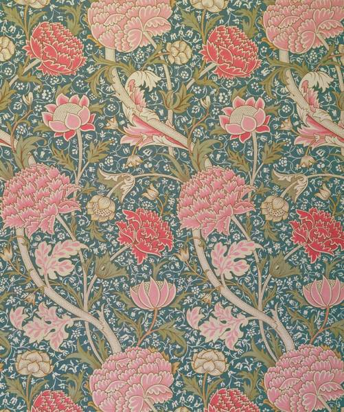Wall Art - Tapestry - Textile - Cray by William Morris