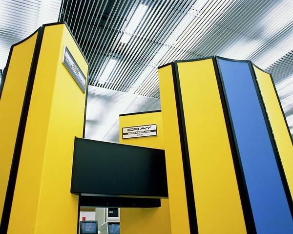 48 Wall Art - Photograph - Cray X- Mp/48 Supercomputer by David Parker/science Photo Library