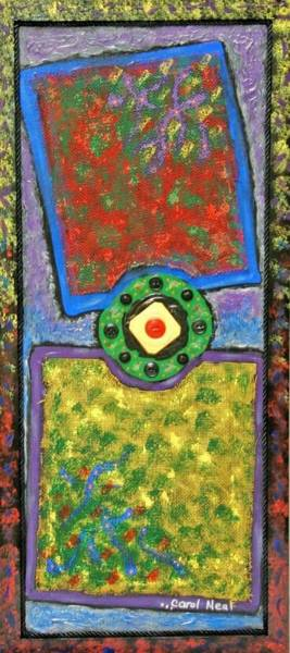 Primary Colors Mixed Media - Crayola 8 by Carol Neal