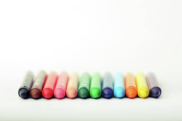 Bangalore Photograph - Crayons by Photo By Jogesh S
