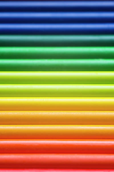 Art Object Photograph - Crayons by Rudisill