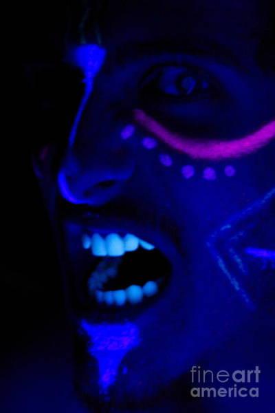 Blacklight Photograph - Crazed Hunger by Xn Tyler