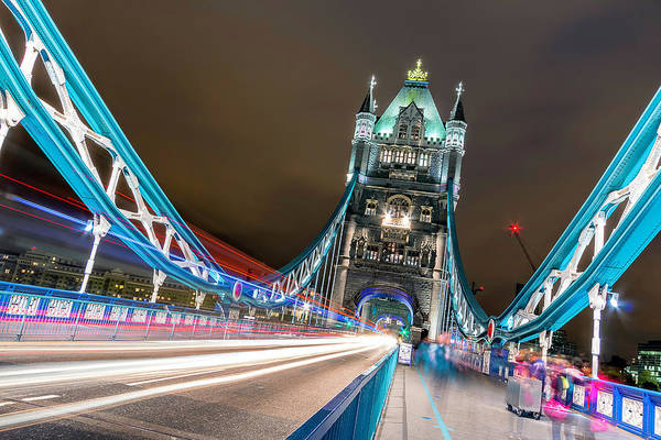 Traffic Wall Art - Photograph - Crazy London by Ahmed Lashin