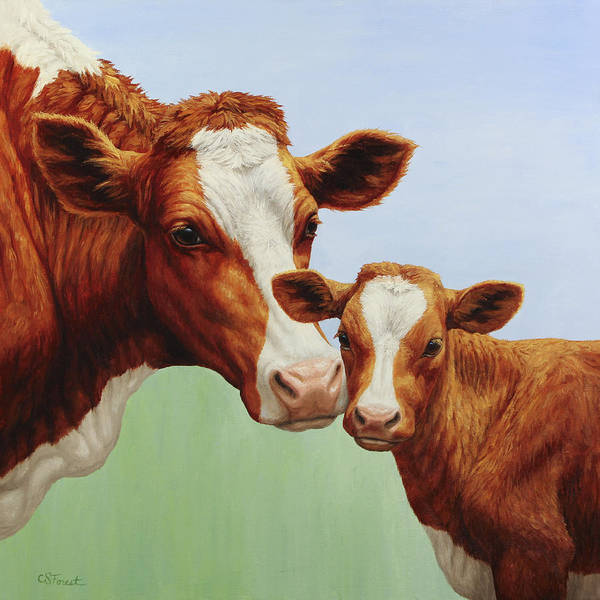 Milk Painting - Cream And Sugar by Crista Forest