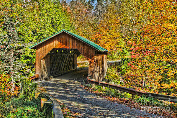 Photograph - Creamery Road Bridge by Deborah Benoit
