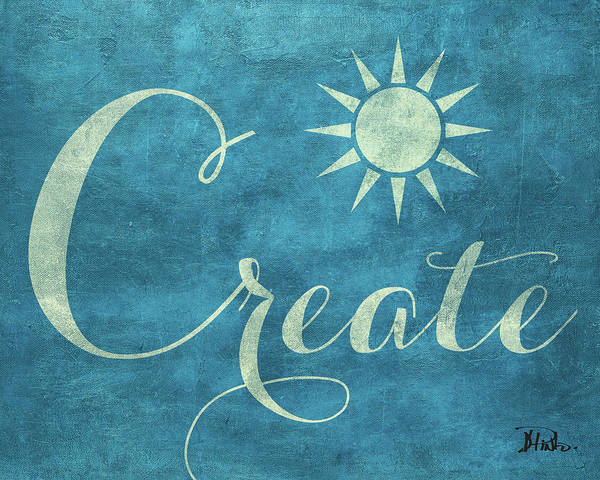 Create Digital Art - Create Believe I by Patricia Pinto