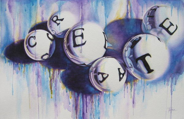 Painting - Create by Tracy Male